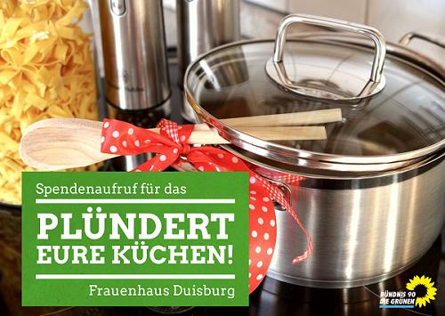 Plündert Eure Küchen